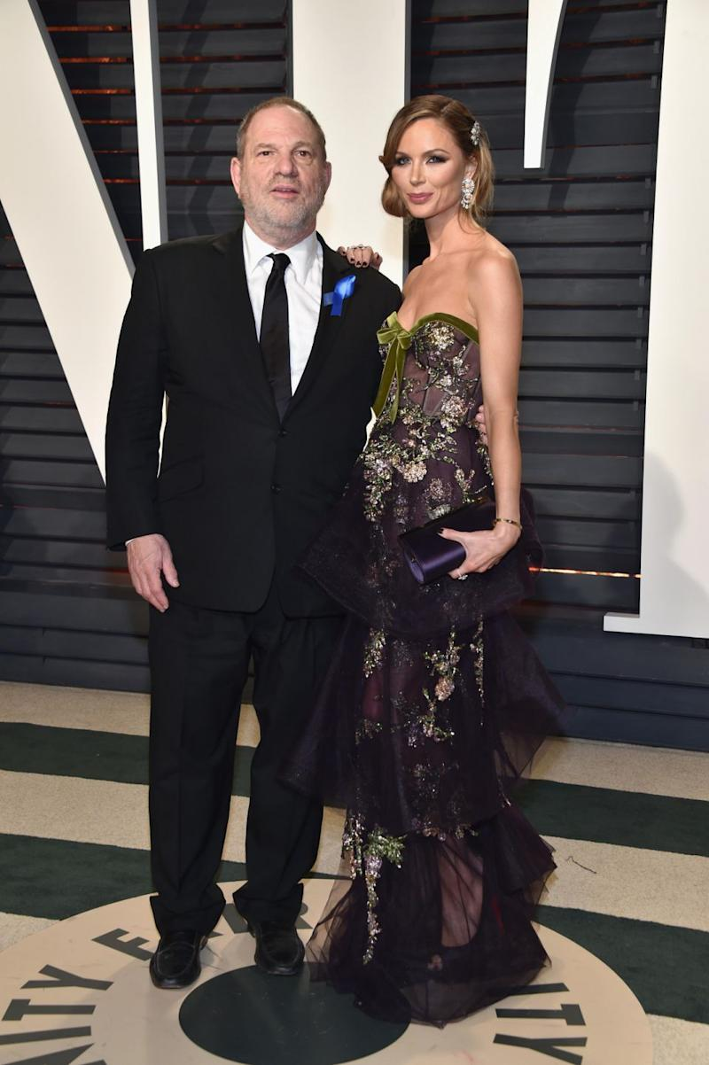 Georgina announced she was leaving Weinstein in October last year following the slew of sexual harassment and assault allegations made against him. The couple are here together at the 2017 Oscars Vanity Fair party. Source: Getty