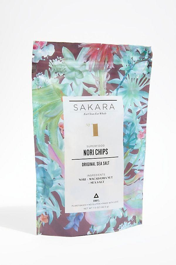 <p>The <span>Sakara Life Original Nori Chips</span> ($9) are a salty snack beloved by both children and adults. They're great on their own or as a vehicle for dips.</p>