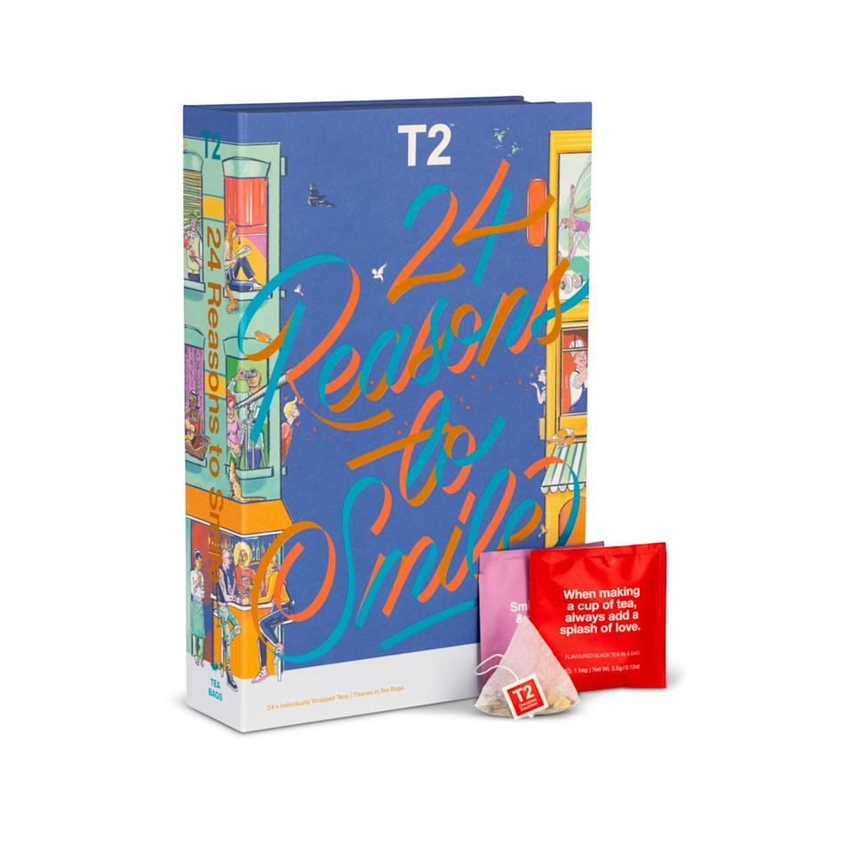 T2 24 Reasons to Smile Teabag Edition Advent Calendar