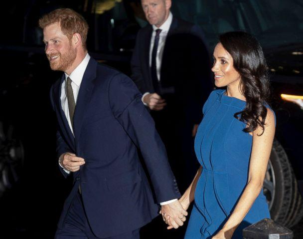 PHOTO: Prince Harry The Duke of Sussex and Meghan Markle, The Duchess of Sussex, arrive at Central Hall Westminster for the 100 Days To Peace, Sept. 6, 2018 in London. (KGC-178/STAR MAX/IPx via AP)