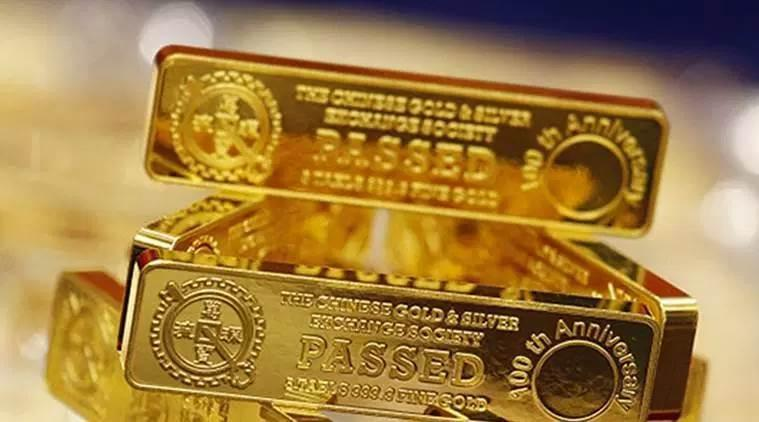 gold price rise, gold prices in India, gold prices globally, spot gold trading, share markets, US-China trade war, business news, Indian Express