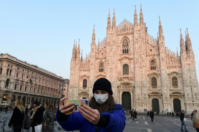 Italy reported four more coronavirus deaths on Monday, bringing the total to seven