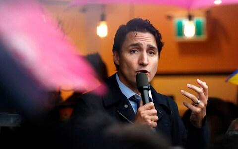 Justin Trudeau is fighting for a second term - Credit: REUTERS/Stephane Mahe
