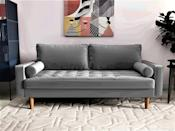 <p>This <span>US Pride Furniture Mac Sofa</span> ($319) has a classic mid-century modern look that will be sure to elevate your living room.</p>