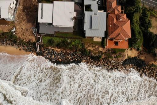 The Australian government estimates 39,000 buildings are located close to 'soft' shorelines around the country and are at risk of erosion