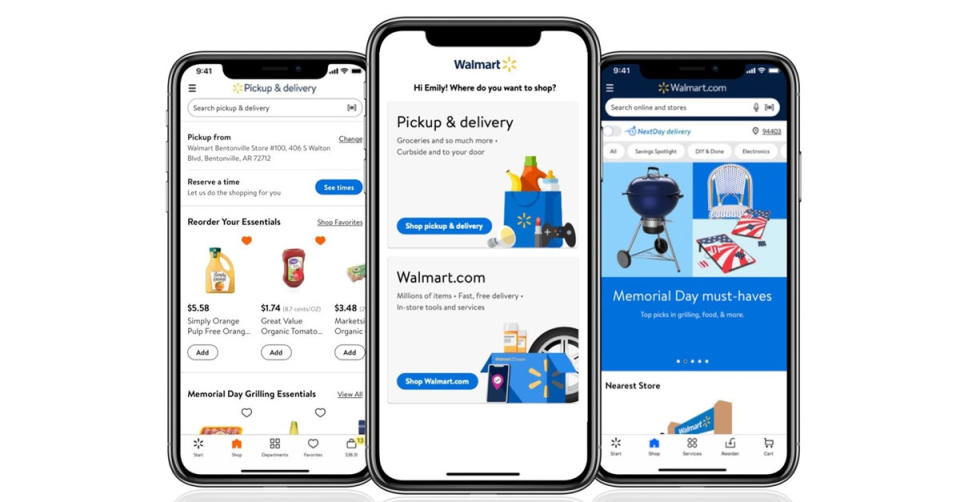 The Walmart app is filled with savings opportunities. (Photo: corportate.walmart.com)