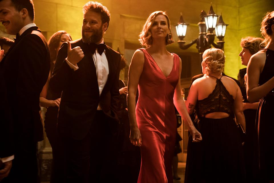 Seth Rogen and Charlize Theron made critics happy with the rom-com