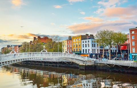 Dublin Ha'Penny Bridge - Credit: Getty