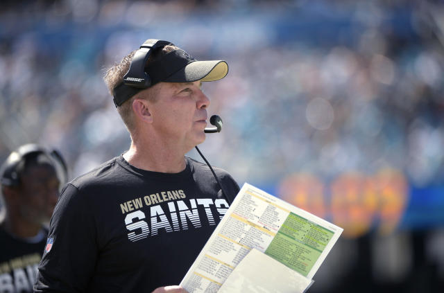 On Wednesday, New Orleans Saints head coach Sean Payton backtracked on comments he'd made the day before. (AP Photo/Phelan M. Ebenhack)