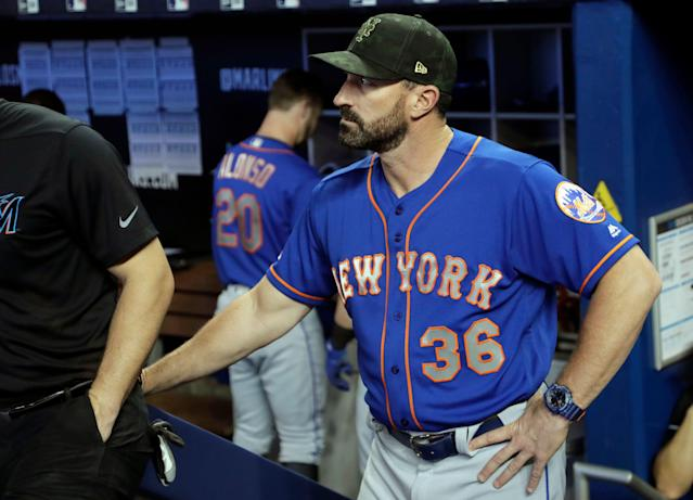 New York Mets manager Mickey Callaway is on the hot seat after five straight losses. (AP Photo/Lynne Sladky)