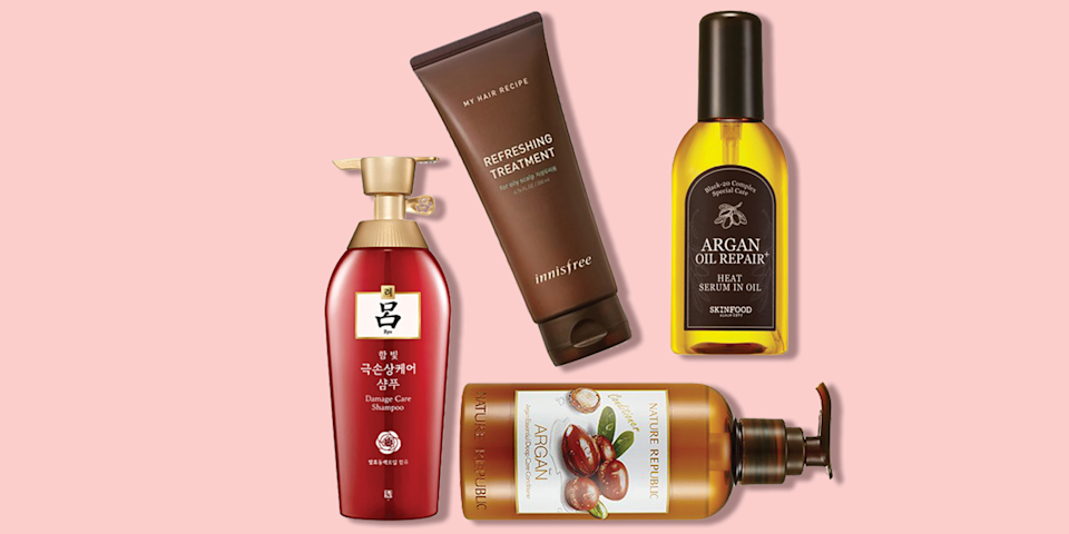 "<p>There's been a huge boom in <a href=""https://www.goodhousekeeping.com/beauty/anti-aging/g3296/best-korean-skin-care-products/"" rel=""nofollow noopener"" target=""_blank"" data-ylk=""slk:K-beauty skincare"" class=""link rapid-noclick-resp"">K-beauty skincare</a> over the past few years, and now, those of us stateside are finally beginning to catch up in the haircare realm. Korean haircare is actually a lot like Korean skincare in that instead of weighing yourself down with quick-fix products (like too much <a href=""https://www.goodhousekeeping.com/beauty-products/g28647973/best-hairsprays/"" rel=""nofollow noopener"" target=""_blank"" data-ylk=""slk:hairspray"" class=""link rapid-noclick-resp"">hairspray</a> or tons of <a href=""https://www.goodhousekeeping.com/beauty-products/g26134878/best-dry-shampoos/"" rel=""nofollow noopener"" target=""_blank"" data-ylk=""slk:dry shampoo"" class=""link rapid-noclick-resp"">dry shampoo</a>), K-beauty haircare focuses on formulas that aim to treat and fix problems. </p><p>Because of this, intensive treatments and products that target the scalp are extremely popular. Korean hair products are filled with moisturizing and soothing ingredients like argan oil, goat milk, and shea butter. You can smooth on a scalp scaler or pop on a self-heating <a href=""https://www.goodhousekeeping.com/beauty-products/g3970/best-face-sheet-masks/"" rel=""nofollow noopener"" target=""_blank"" data-ylk=""slk:sheet mask"" class=""link rapid-noclick-resp"">sheet mask</a> (yes, there are sheet masks for hair!) for silky, smooth strands in no time.</p><p> While we still aren't able to get our hands on every product that people on Seoul swear by for luscious locks, thanks to brands that have begun to sell internationally, we're able to try some of the cult-favorites. Below, the <a href=""https://www.goodhousekeeping.com/institute/about-the-institute/a19748212/good-housekeeping-institute-product-reviews/"" rel=""nofollow noopener"" target=""_blank"" data-ylk=""slk:Good Housekeeping Institute"" class=""link rapid-noclick-resp"">Good Housekeeping Institute</a> Beauty Lab experts compiled a list of the best Korean haircare products you can try for yourself, with everything from <a href=""https://www.goodhousekeeping.com/beauty-products/g32715498/best-shampoos-brands/"" rel=""nofollow noopener"" target=""_blank"" data-ylk=""slk:shampoo"" class=""link rapid-noclick-resp"">shampoo</a> and <a href=""https://www.goodhousekeeping.com/beauty-products/g26212823/best-conditioner-for-dry-hair/"" rel=""nofollow noopener"" target=""_blank"" data-ylk=""slk:conditioner"" class=""link rapid-noclick-resp"">conditioner</a> to single-dose ampoules:</p>"