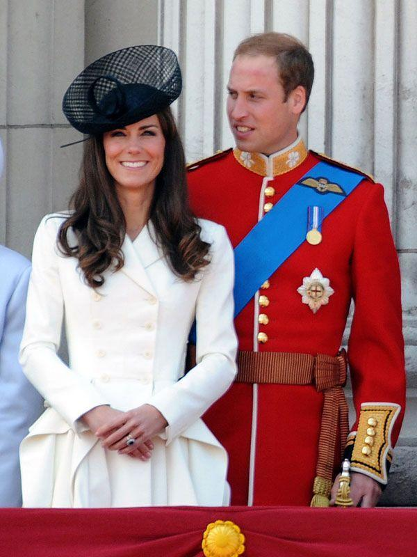 <p>More flawless McQueen for Trooping the Colour at Buckingham Palace</p>