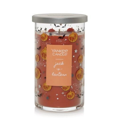 <p>Even when this <span>Jack-o'-Lantern Medium Perfect Pillar Candle</span> ($21) is not lit, it still makes for a cute piece of decor.</p>