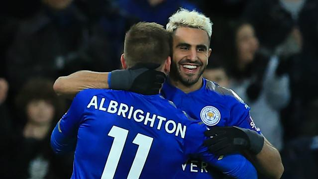 The Algeria international is not seeking a move away from the King Power Stadium during the January transfer window, according to his manager