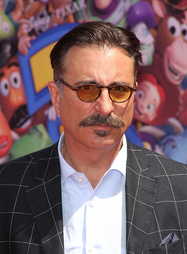 "<a href=""http://movies.yahoo.com/movie/contributor/1800011640"">Andy Garcia</a> at the Los Angeles premiere of <a href=""http://movies.yahoo.com/movie/1809266566/info"">Toy Story 3</a> - 06/13/2010"