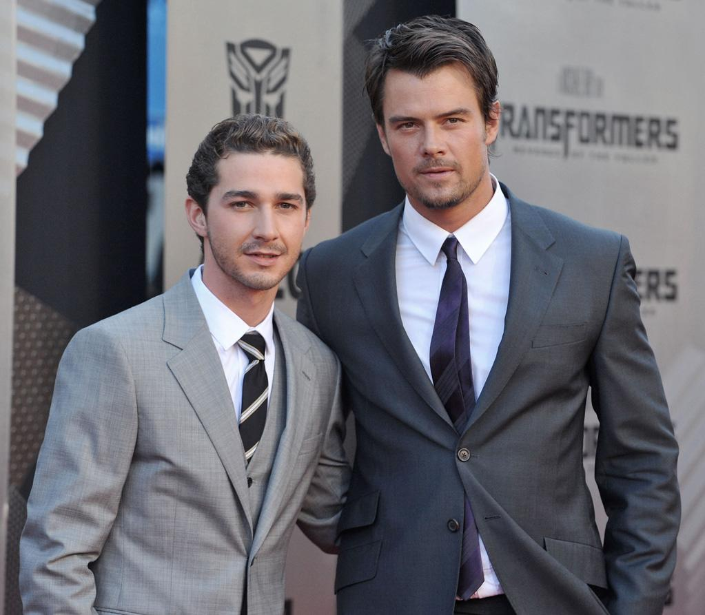 "<a href=""http://movies.yahoo.com/movie/contributor/1804503925"">Shia LaBeouf</a> and <a href=""http://movies.yahoo.com/movie/contributor/1804581818"">Josh Duhamel</a> at the Los Angeles premiere of <a href=""http://movies.yahoo.com/movie/1809943432/info"">Transformers: Revenge of the Fallen</a> - 06/22/2009"