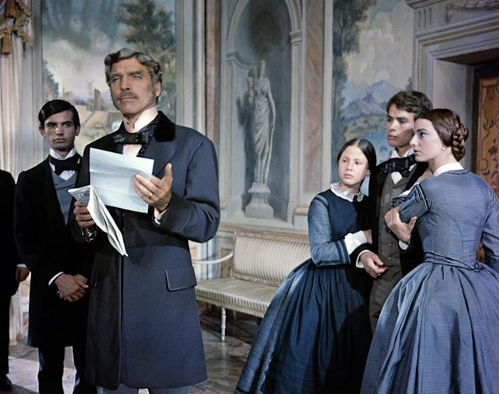 """<h1 class=""""title"""">On the set of Il gattopardo</h1> <div class=""""caption""""> Called <em>Il Gattopardo</em> in Italian, this nearly three-hour film is based on the 1958 novel of the same name by Giuseppe Tomasi di Lampedusa. </div> <cite class=""""credit"""">Photo: Sunset Boulevard/Corbis via Getty Images</cite>"""