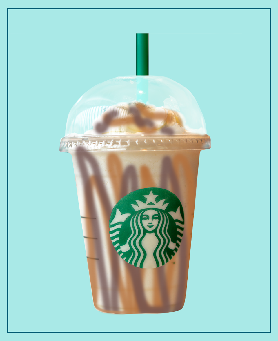 <p>If Twix is your go-to when it comes to chocolate bars, then you'll love this frapp. It's packed with caramel and hazelnut syrups and oozes chocolate cream. </p><p><strong>What should I ask for? </strong>Chocolate Cream Frappuccino with Caramel and Hazelnut Syrup and Mocha and Caramel Drizzle.</p>