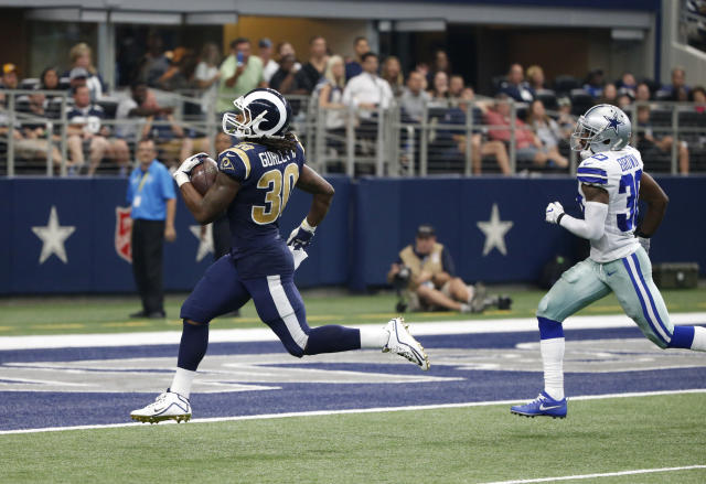 Todd Gurley has helped lead the Rams to a 3-1 record. (AP)