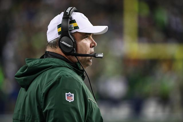 Former Packers head coach Mike McCarthy is reportedly only interested in coaching the Jets next season. (Abbie Parr/Getty Images)