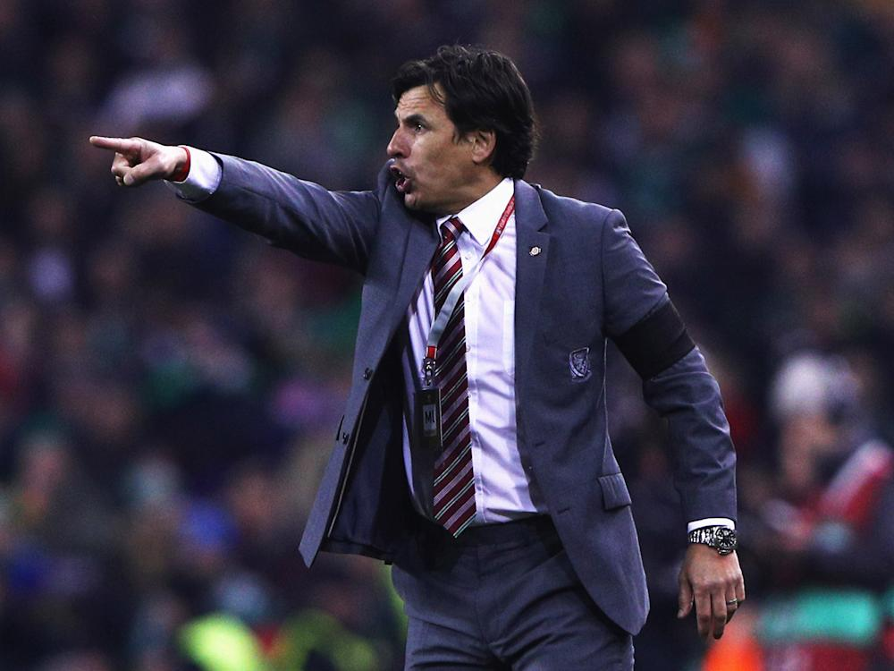 Coleman insisted it wasn't a bad result for Wales: Getty