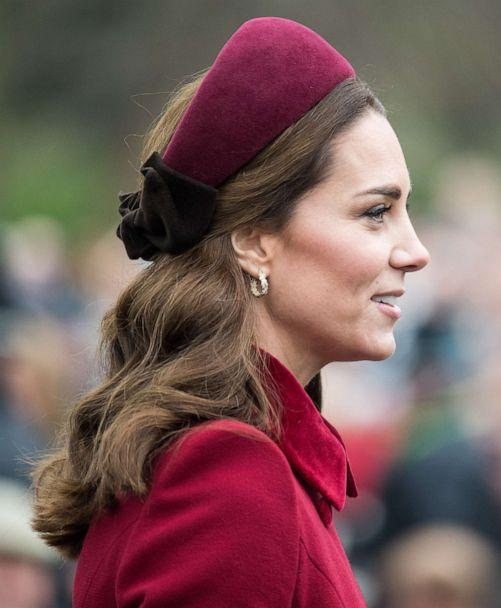 PHOTO: Catherine, Duchess of Cambridge attends Christmas Day Church service at Church of St Mary Magdalene on the Sandringham estate in King's Lynn, England, Dec. 25, 2018. (WireImage/Getty Images, FILE)
