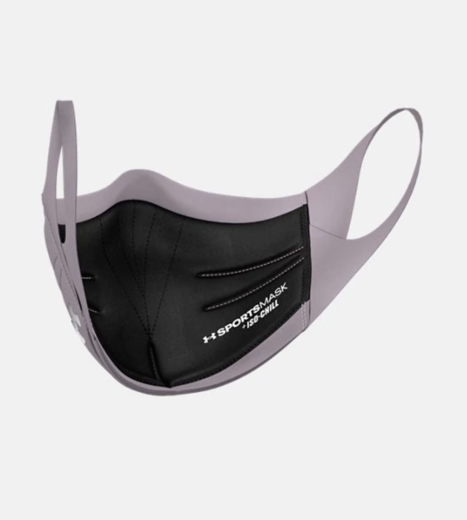 The UA Sportsmask by Under Armour - available for 2 for $40.