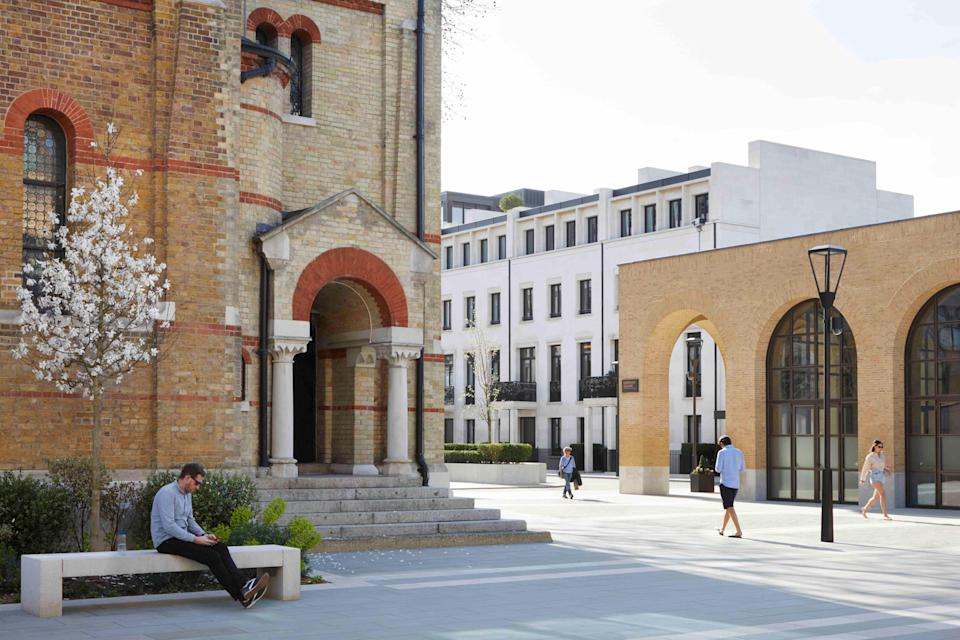 The prince's foundation will establish a public exhibition space to showcase its work in a listed chapel at the £3.5billion Chelsea Barracks development (Handout)