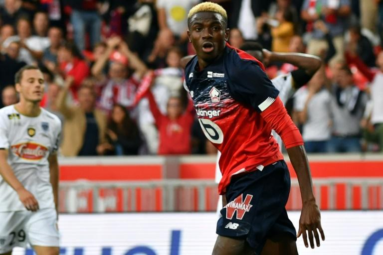 Osimhen has now scored five Ligue 1 goals this season