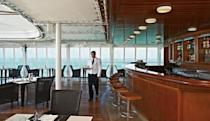 <p>The bar and grill at the pool features a volcanic rock to cook your own meats. (silversea.com) </p>