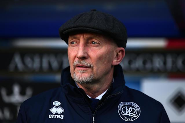 QPR sack manager Ian Holloway