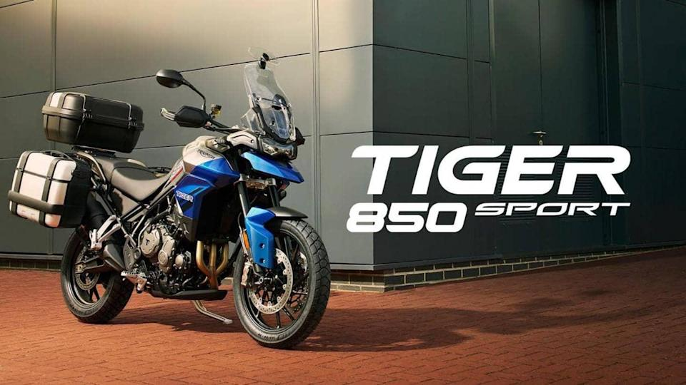 Ahead of launch, Triumph Tiger 850 Sport listed in India