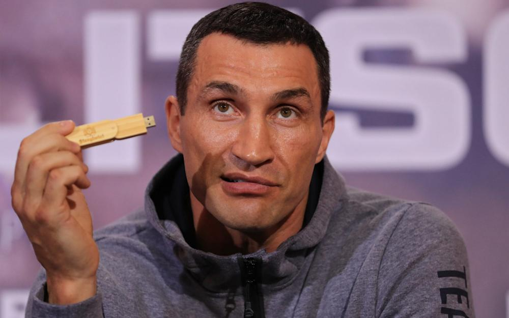 Wladimir Klitschko - Credit: GETTY IMAGES