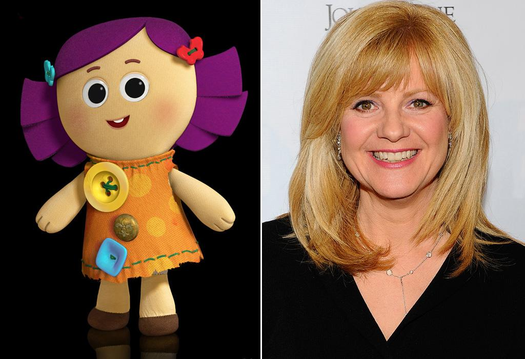 """DOLLY/<a href=""""http://movies.yahoo.com/movie/contributor/1800022747"""">BONNIE HUNT</a>  Bonnie Hunt played the Porsche love interest Sally Carrera in """"Cars"""" and in the upcoming """"Cars 2."""" In """"Toy Story 3"""", she plays the googly-eyed rag doll aptedly named Dolly."""