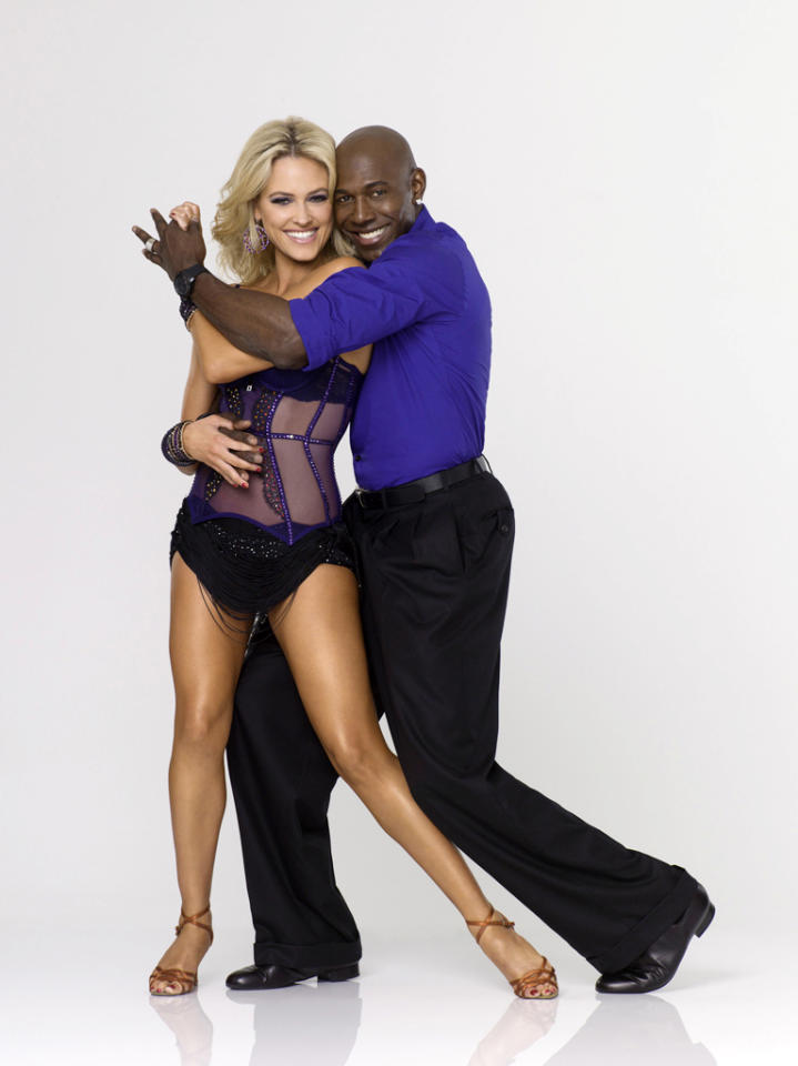 "Donald Driver teams with professional dancer Peta Murgatroyd on Season 14 of ""<a href=""http://tv.yahoo.com/dancing-with-the-stars/show/38356"">Dancing With the Stars</a>."""