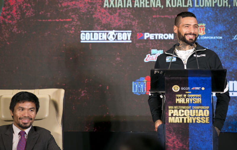 Manny Pacquiao not scared of Lucas Matthysses power