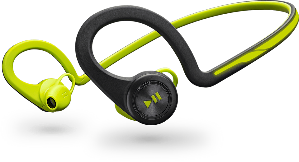 """<p>These durable headphones take annoying wires out of a running routine. They're comfortable, have on-ear controls, and look <i>really </i>cool.</p><p>$129.99 at <a href=""""http://www.plantronics.com/us/product/backbeat-fit#fndtn-overview"""" rel=""""nofollow noopener"""" target=""""_blank"""" data-ylk=""""slk:Plantronics"""" class=""""link rapid-noclick-resp"""">Plantronics</a></p>"""