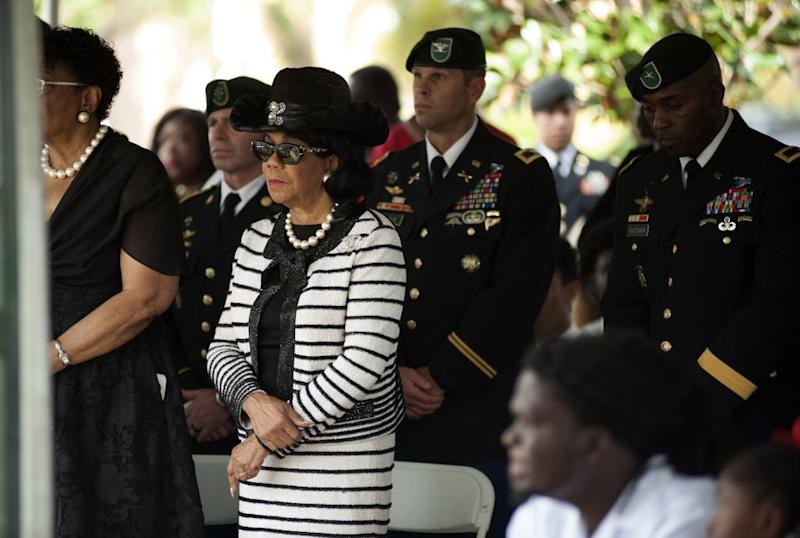 Fallen soldier's widow says she is 'very angry' about President Trump's call