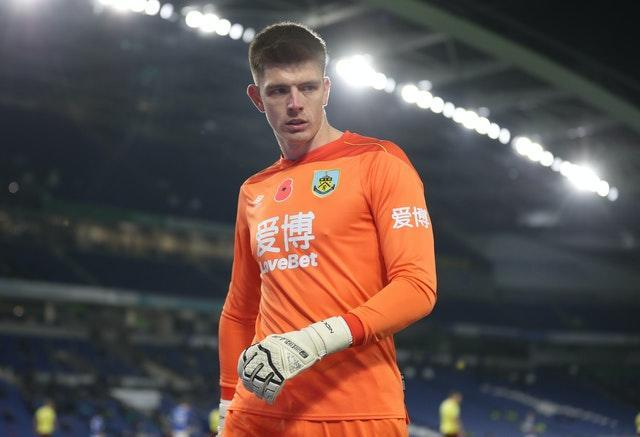 Nick Pope would like the number-one spot for England