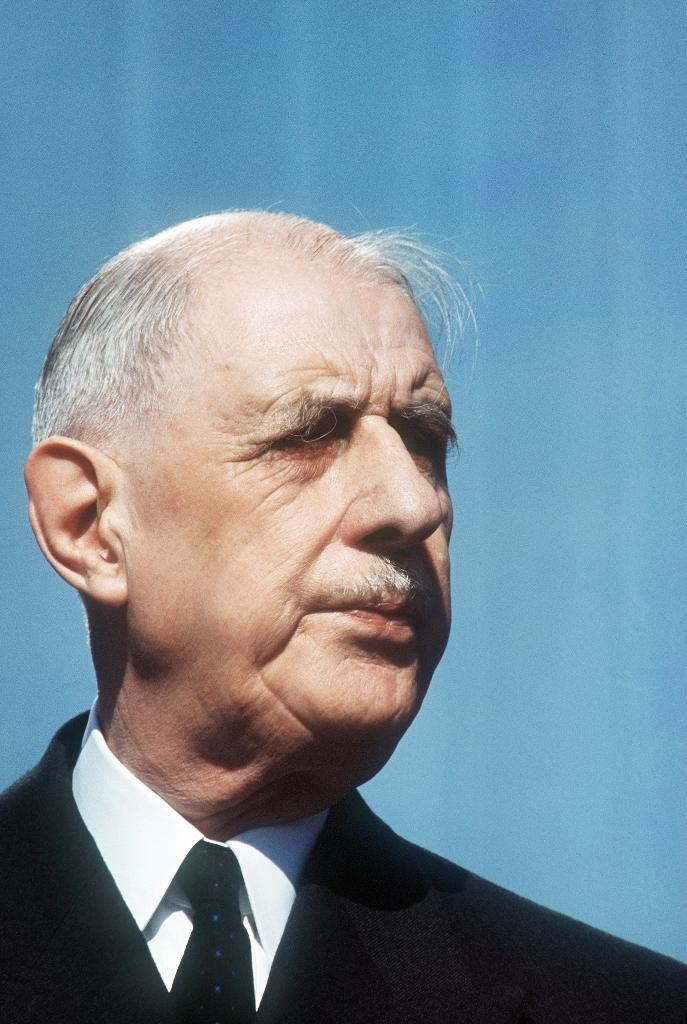 Macron's hero, post-war leader Charles de Gaulle, won three referendums but lost a fourth in 1969 (AFP Photo/)