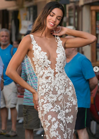 The 'naked' wedding dress has turned heads in 2019. Photo: Instagram/ berta