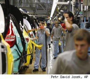 worker productivity increased