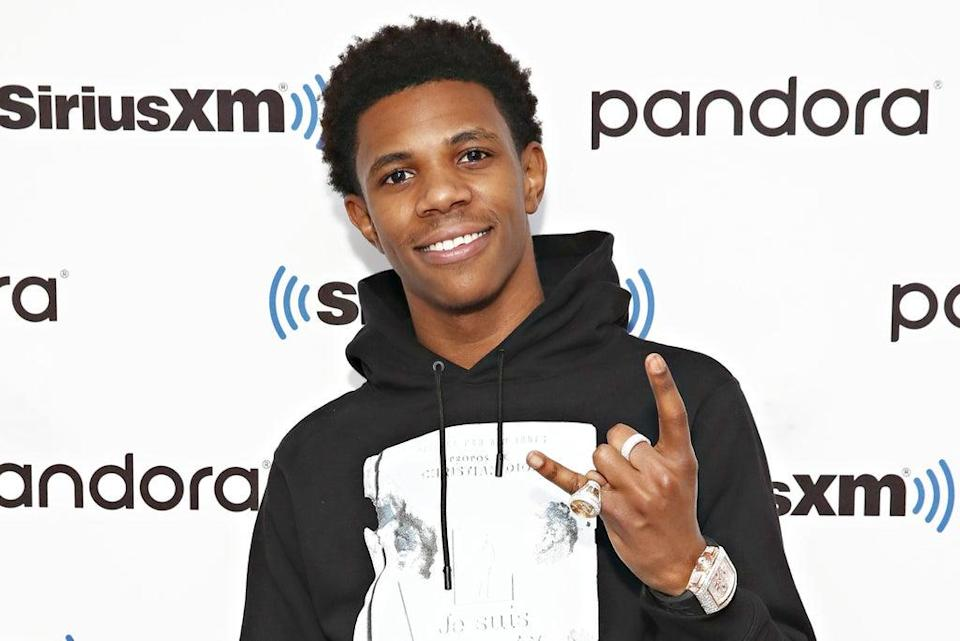 A Boogie wit da Hoodie visits the SiriusXM Studios on February 14, 2020 (Getty Images)