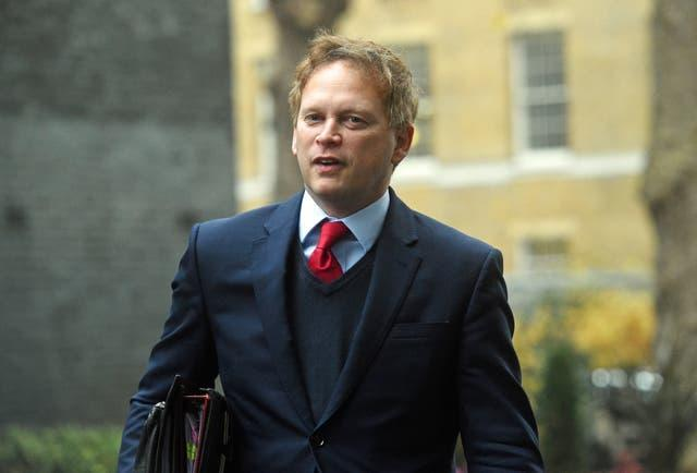 Grant Shapps (Kirsty O'Connor/PA)