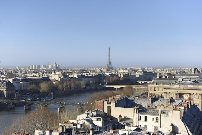 The view from the upcoming Cheval Blanc Paris.
