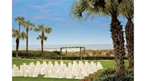 """<p>Tucked away just south of the Florida-Georgia state line is a magnificent venue that marries Florida's easygoing vibe with the South's warm charm. The <a href=""""http://www.ritzcarlton.com/en/hotels/florida/amelia-island"""" rel=""""nofollow noopener"""" target=""""_blank"""" data-ylk=""""slk:Ritz-Carlton, Amelia Island"""" class=""""link rapid-noclick-resp"""">Ritz-Carlton, Amelia Island</a> provides multiple venues within one property—the Atlantic-facing beach, a regal courtyard, and a sprawling oceanfront lawn—that sets the scene for an unforgettable event. A grand ballroom, smaller dining rooms, and terraces are also available for ceremonies, receptions, and other events.</p>"""