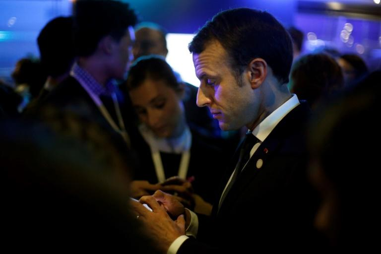 French President Emmanuel Macron made an election campaign pledge to ban mobile phones in school