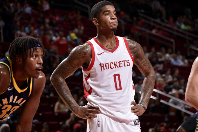"<a class=""link rapid-noclick-resp"" href=""/nba/players/5639/"" data-ylk=""slk:Marquese Chriss"">Marquese Chriss</a> may have found a home with Houston. (Getty)"