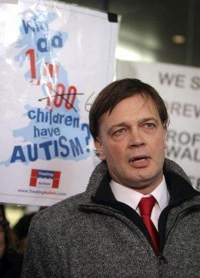 Dr. Andrew Wakefield / Photo by Getty Images