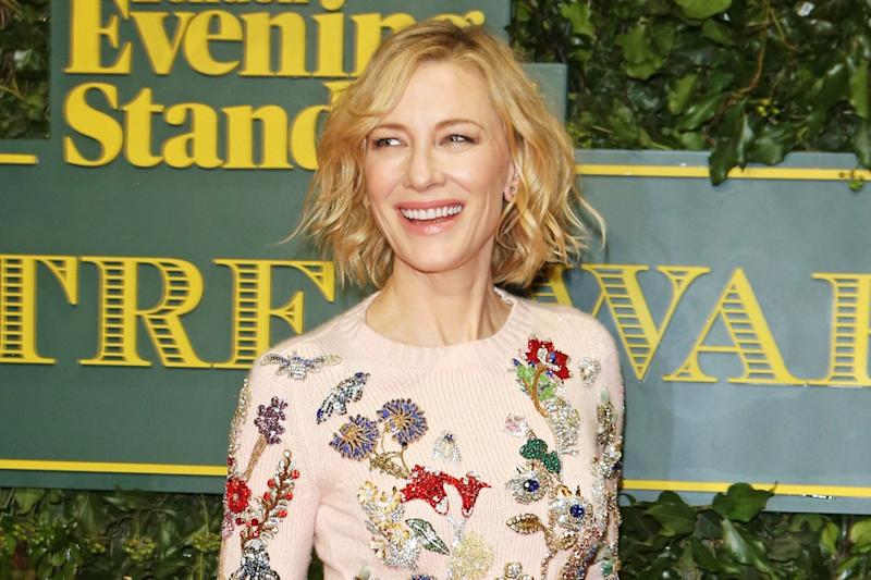 Girl power: Cate Blanchett hopes there will be more female-led films: Dave Benett